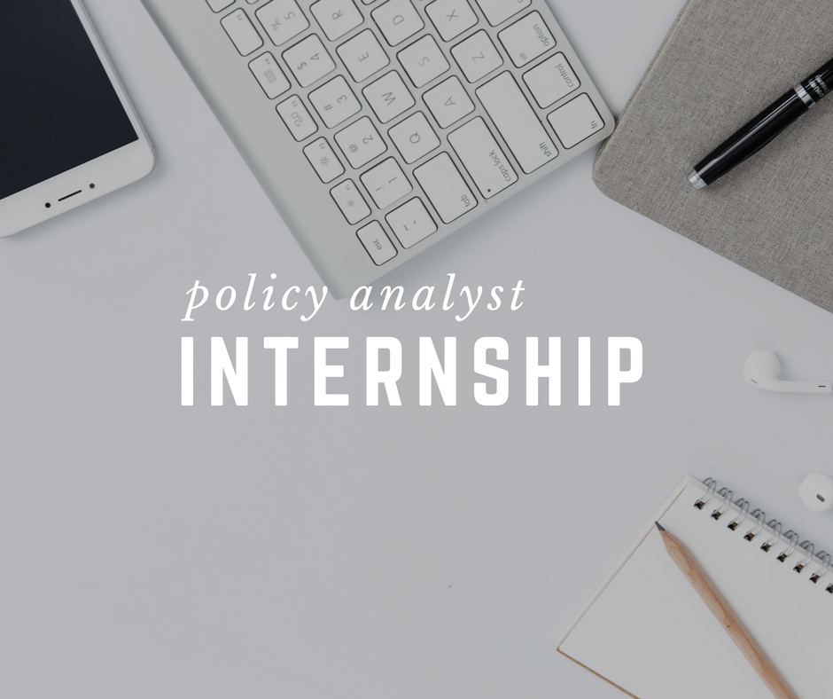 Policy Analyst Internship