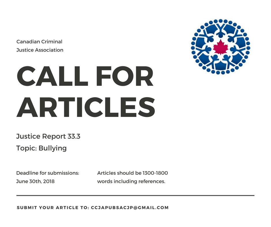 Call For Articles: Justice Report 33.3