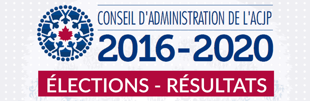 Élections 2016 – résultats