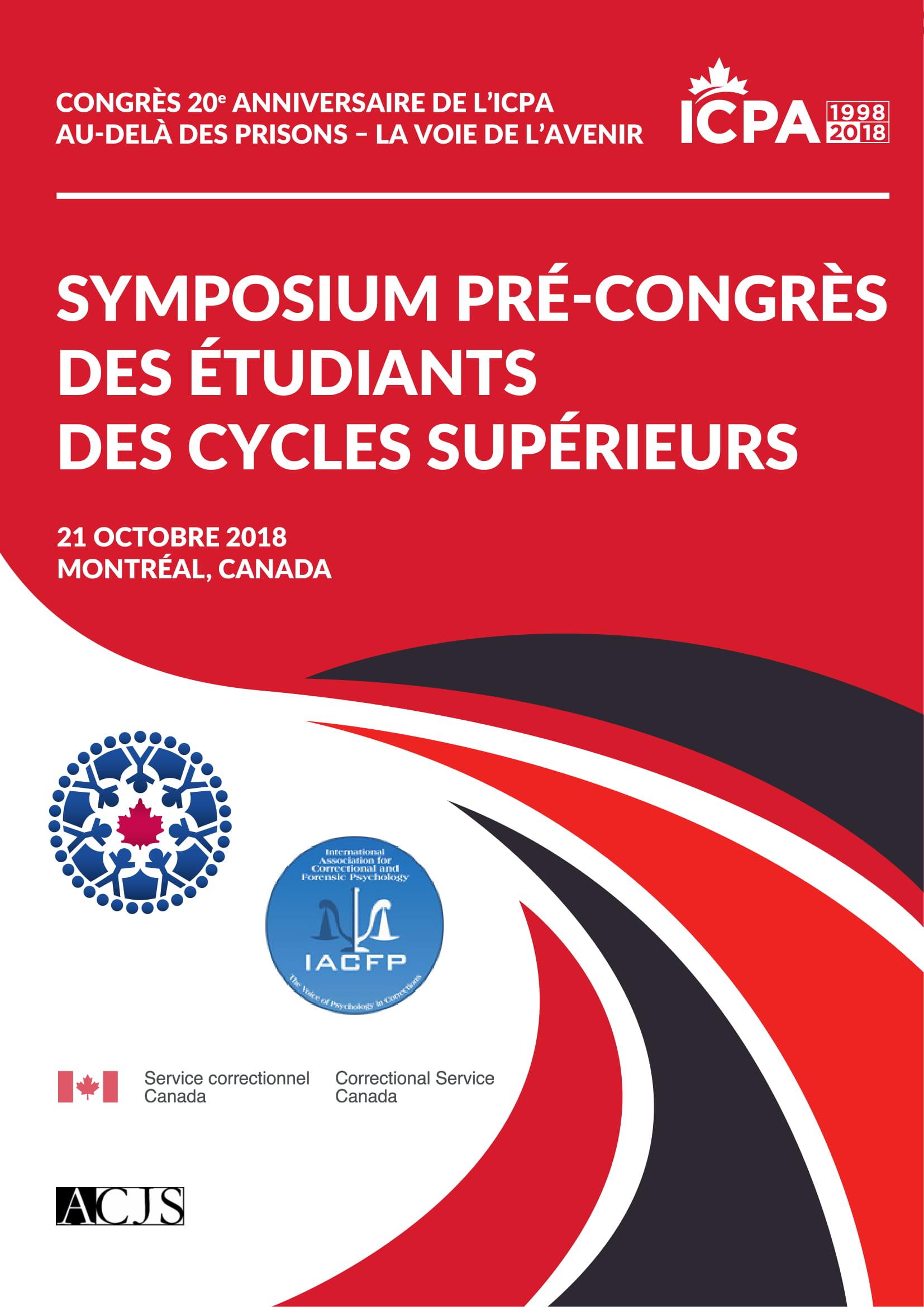 Symposium Pré-Congrès Des Étudiants Des Cycles Supérieurs